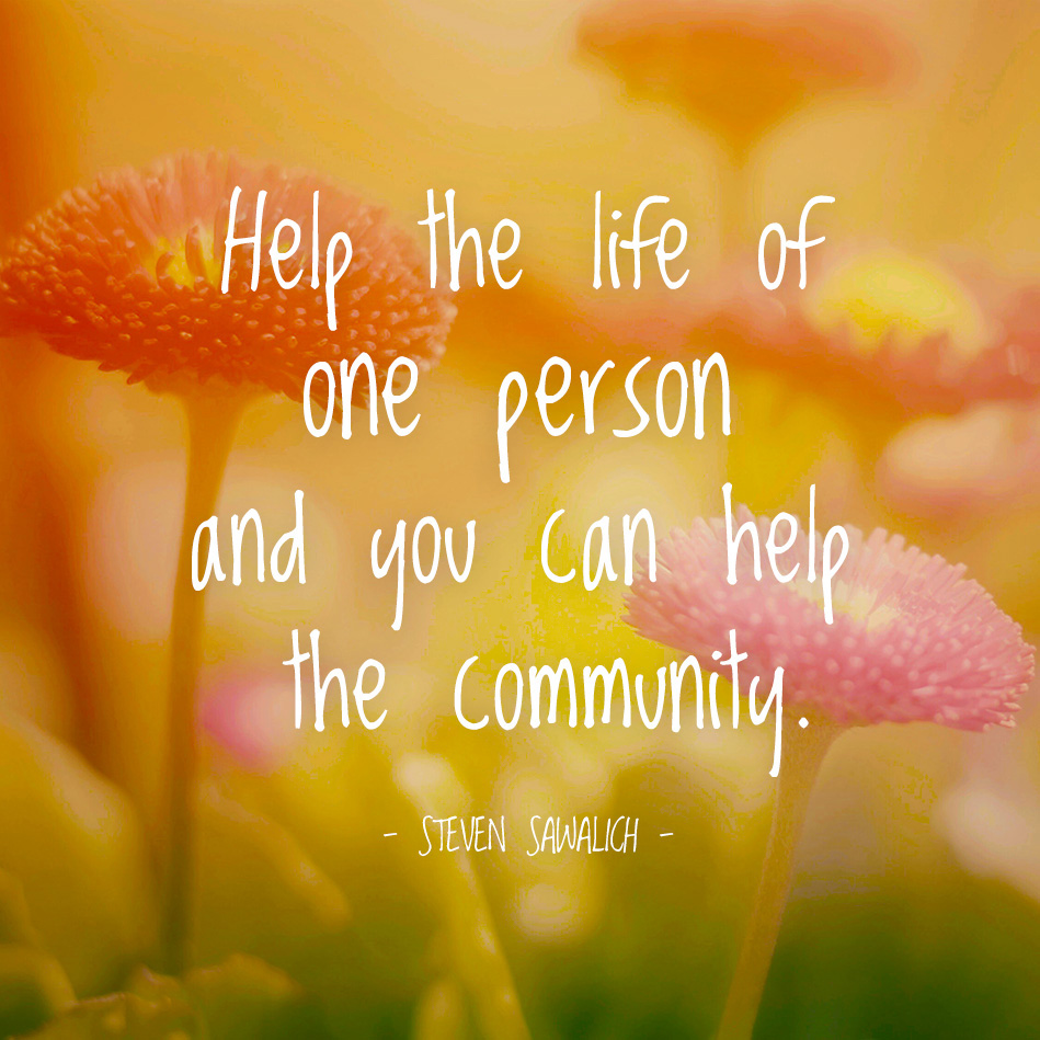 "what does community service means to me Altruism is when we act to  and cooperation in your social community"" altruism is good  learning with real-world community service,."