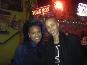 AzMarie graciously took a photo with me at a bar in West Hollywood.